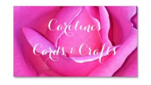 CarolinesCardsAndCrafts